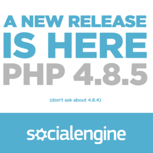 SocialEngine PHP 4.8.5 Released