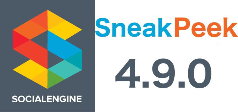 SocialEngine 4.9 Sneak Peek