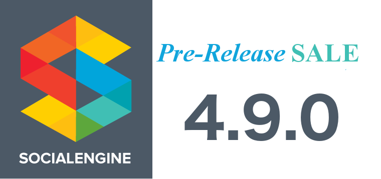 SocialEngine 4.9 Pre-Release Sale